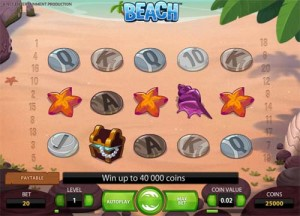 Beach slot