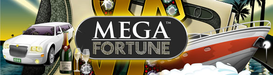 10 gratis rundor p Mega Fortune hos Unibet